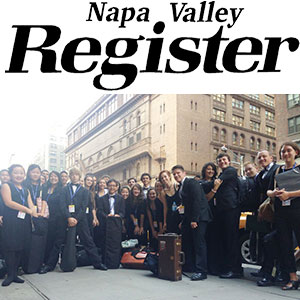 Napa Valley Youth Symphony performs in Carnegie Hall